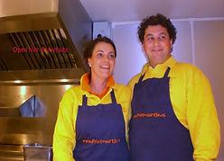 Louise en Rafael Friet-uurtje heerlijke snacken op Uw locatie