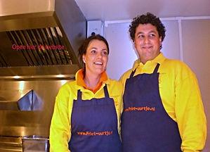Friet-uurtje Louise en Rafael snackwagenverhuur