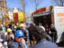 Bedrijfsfeest Snackwagen verhuur Friet-uurtje snacken op iedere locatie