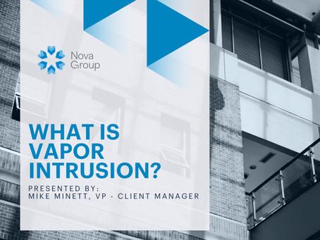 What is Vapor Intrusion?