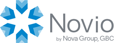 Novio by Nova Group, GBC Logo