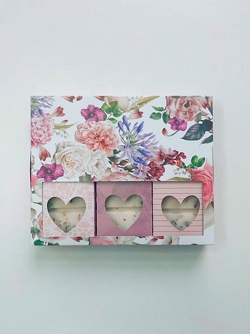 Floral Snap Bar Gift Set