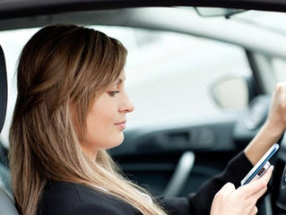 Engage your driver's & reinforce the recent change in mobile phone use while driving.