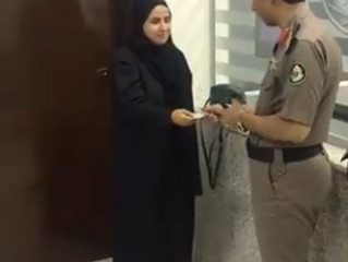 Woman in Saudi Arabia Receives Driving Licence