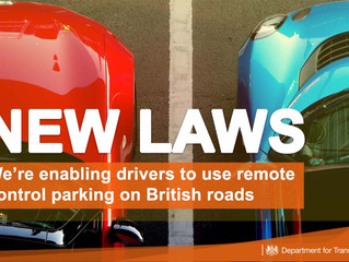New laws pave way for remote control parking in the UK