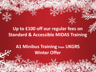 MiDAS Minibus Training