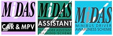MiDAS Minibus Assessment, Standard, Accessible, PATs, DATs. 5 steps to safety, CAR/MPV