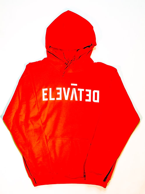 ELEVĀTED Hoodie | Red & White