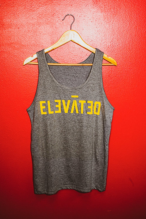 GREY & GOLD ELEVATED | TANK TOP