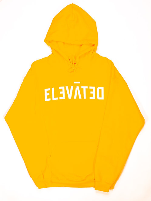 ELEVĀTED Hoodie | Gold & White