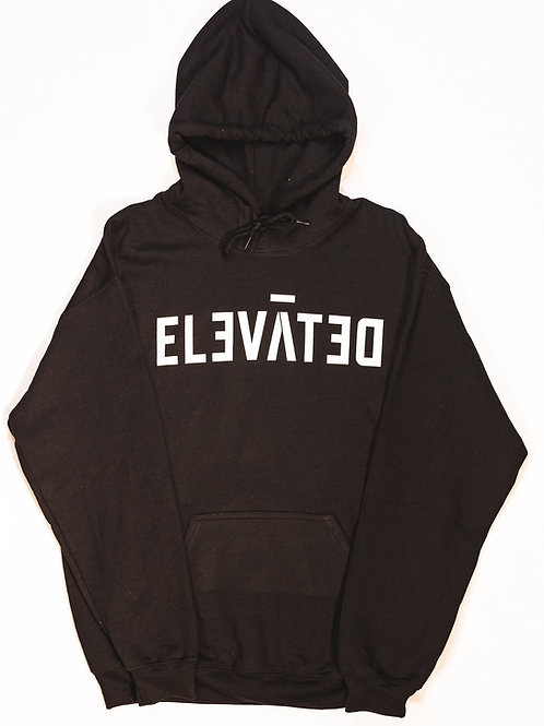 ELEVĀTED Hoodie (ICONIC) | Black & White