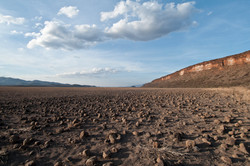 Dried up Lake Kweni