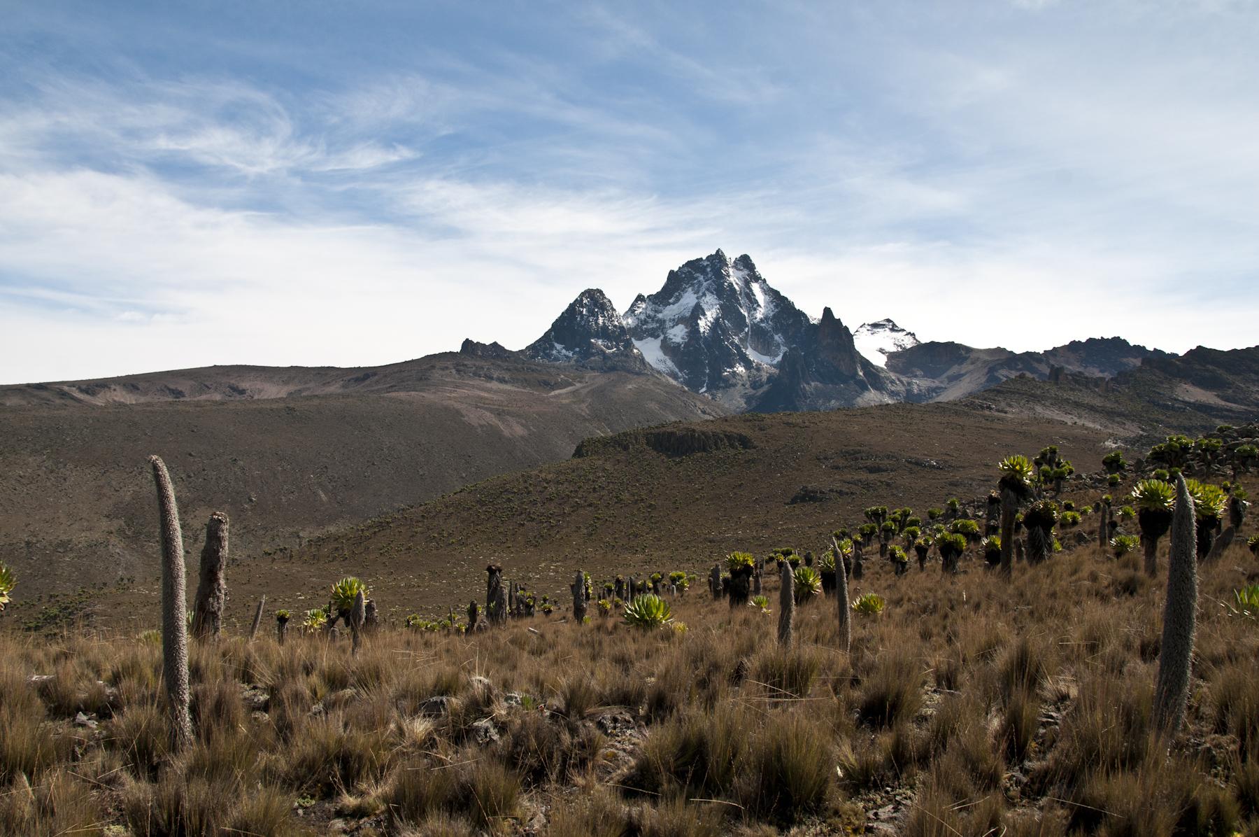 Peaks of Mt Kenya