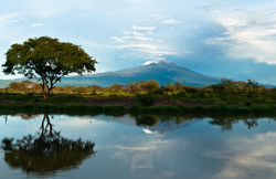 Reflections of Mt Mawenzi