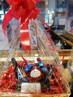 Wine & chocolates hamper £20