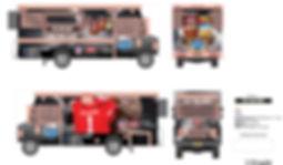 NFL Draft Chunky Soup Promotion Truck De