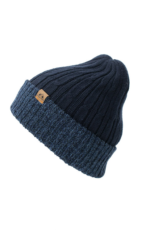 Navy Blue/Tweed