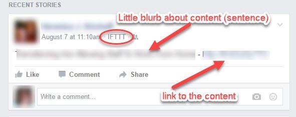 screenshot for ifttt