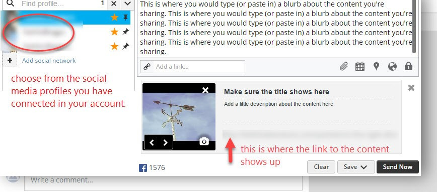 screenshot for Hootsuite