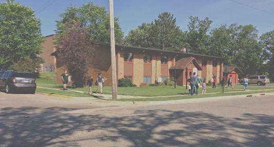 Our church building, near BSU.