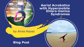 Aerial acrobatics with Hypermobile Ehlers-Danlos Syndromes