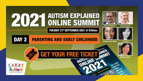 EVENT: Autism Explained Online Summit - Tuesday 21st September - 9am