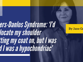 'I'd dislocate my shoulder putting my coat on, but I was told I was a hypochondriac' - Jane Green