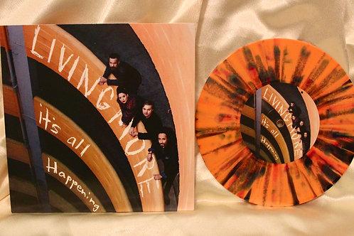 "Its All Happening - 3 Song EP 7"" Vinyl - Orange Paint Splatter"