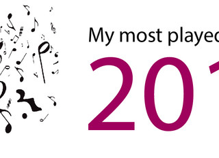 Welcome to 2014, here are my most played tracks of 2013!