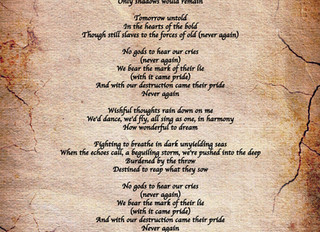 Burden of Hope Lyrics