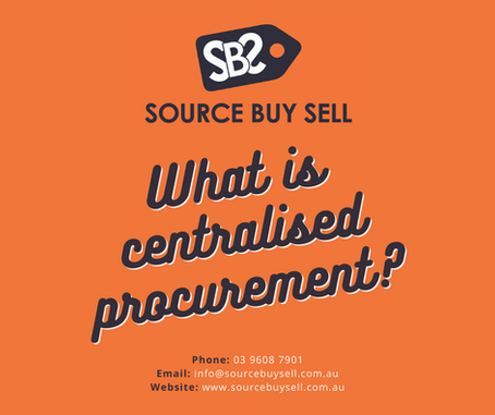 What is Centralised Procurement?