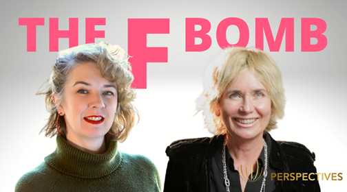 The F Bomb with Jane Gilmore | #Perspectives podcast with Sharon Pearson