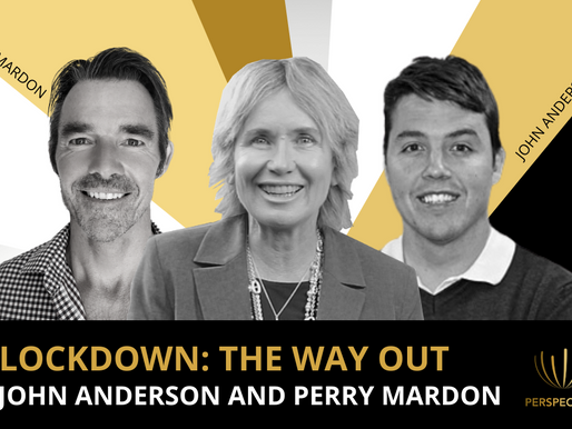 Lockdown: The Way Out with John Anderson & Perry Mardon | #Perspectives podcast with Sharon Pearson
