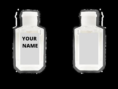 60ml Custom-Label Hand Sanitizer (75% alcohol)