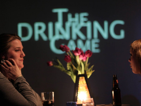 The Drinking Game: Hard Questions & Hard Alcohol