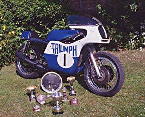 3dmotorcycles prepared Rob North Triumph Trident