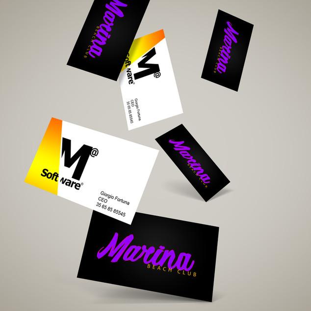 business cards marina beachclub and mad software.jpg
