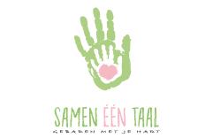 Logo design for Samen één Taal - Fresh Q