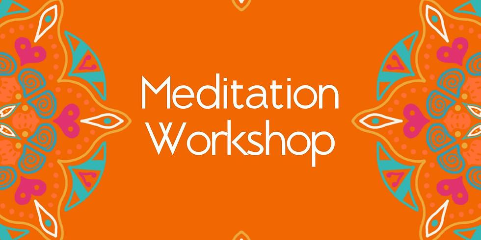 Meditation Workshop w/ Rhonda Cordonnier