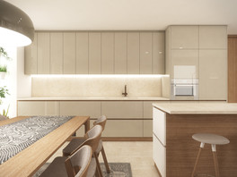 Open-plan kitchen and living area remodel | by CADFACE