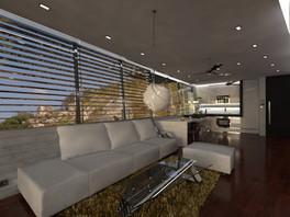 Kuchyňa prepojená s obývačkou   design CADFACE