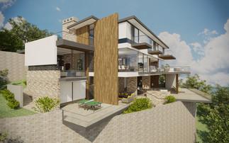 Južná terasa | design CADFACE