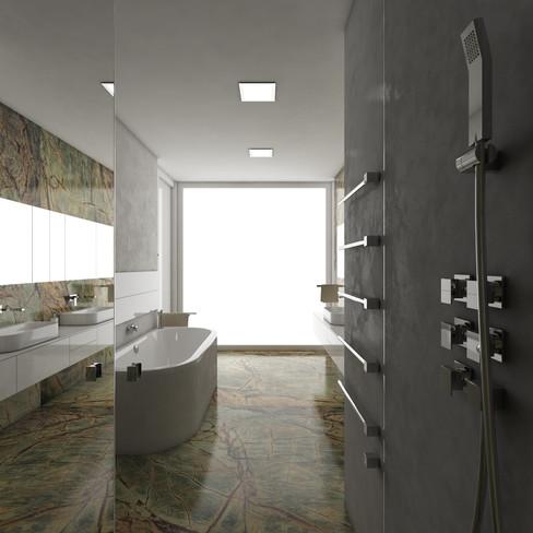 Kúpeľňa rodičov | design CADFACE