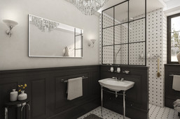 Classic victorian-style bathroom   by CADFACE