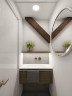 Tiny elegant en-suite toilet   by CADFACE