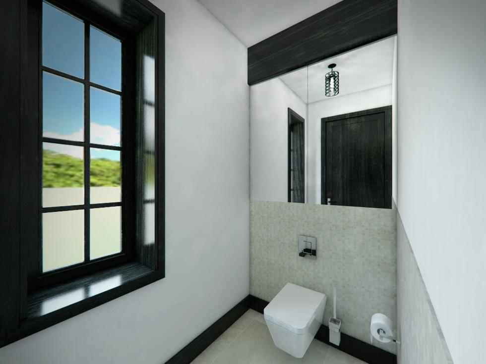 Hosťovská toaleta   design CADFACE