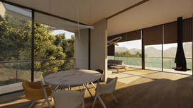 Luxury villa on a hillside | by CADFACE