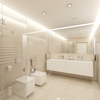 Lux glossy bathrom | by CADFACE