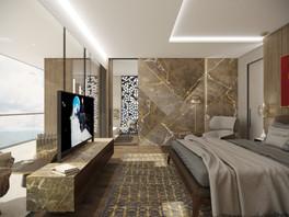 Luxury villa on a hillside   by CADFACE
