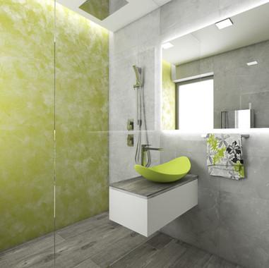 Tiny bathroom design | by CADFACE